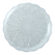 Union Crystal Plate 2x5pc
