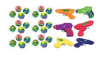 Amscan Water Squirter Value Pack Favor 1pc