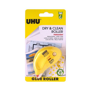 Uhu Glue Roller Dry & Clean Permanent 1pc