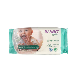 Charm Bambo Nature Traveling Wipes 10s