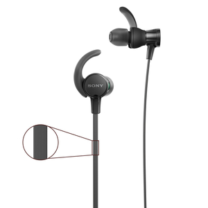 Sony Wired On The Ear H/Set,Extra B 1pc