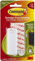3M-Command Sawtooth Pic Hanger 1pc