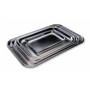 Pmt Steel Mess Tray Square 1pc