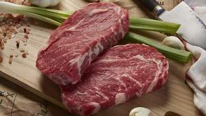 Australian Black Angus Beef Ribeye Steak 300g