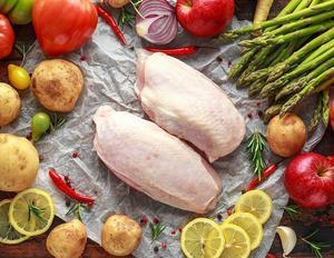 New Zealand Frozen Skin On Chicken Breasts 2.5kg