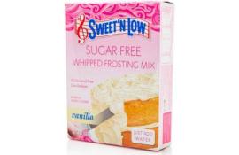 Sweet 'N Low Sugar Free Frosting Vanilla 198g