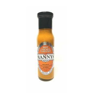 Mannys Marinade Chicken Hot 250ml