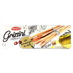 Barbero Grissini Breadstick Olive Oil 125g