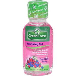 Green Cross Sanitizing Gel Sparkling Berry 60ml