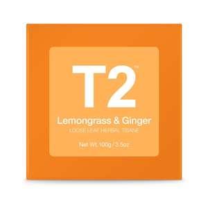 T2 Lemongrass & Ginger Box 100g