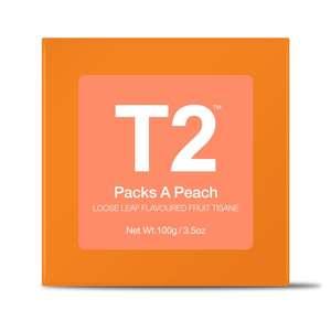 T2 Packs A Peach Box 100g
