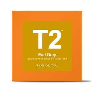 T2 Earl Grey Bio Tea Bag Box 25pack