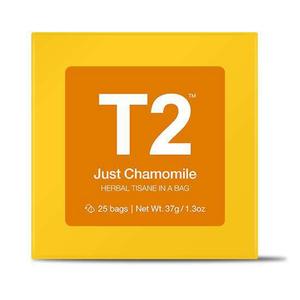 T2 Just Chamomile Bio Tea Bag Box 25pack