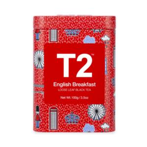 T2 English Breakfast T2 Icon Tin 100g