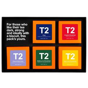 T2 Five Tea Gift Pack Black Tea 1pc