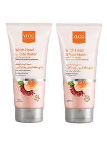 Witch Hazel & Rose Water Gentle Face Wash 2x150ml