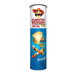 Mister Potato Baked Original+ Barbeque 2x100g