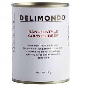Delimondo Ranch Style Corned Beef 260g