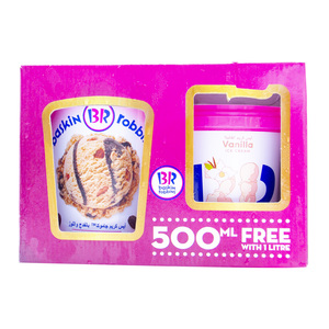 Baskin Robbins Ice Cream Assorted 1l