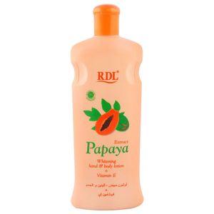 Rdl Extract Papaya Body Lotion 600ml