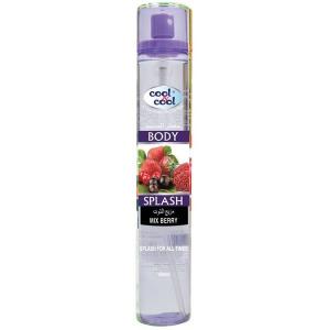 Cool & Cool Body Splash Mix Berry 1pc