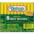 Nathan's Beef Frank 375g