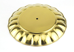 Vague Golden 2-Tiers Candy Tray 1pc