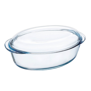 Taliona Oval Glass Bakeware 4L 1pc