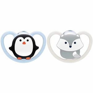 Nuk Animals Space Silicone Soother 1pc