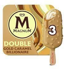 Magnum Gold Caramel Billionare Ice Cream 90ml