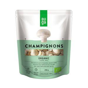 Auga Organic Mushroom Whole in Brine 250g