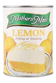 Mothersmaid Lemon Pie Filling USA 21oz