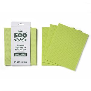 Martini Cellulose With Fiber Sponge Cloth 1pack