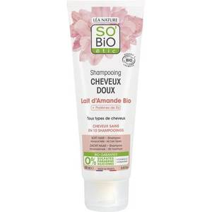 Sobio Soft Hair Almond Milk Shampoo 250ml