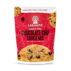 Lakanto Sugar Free Chocolate Chip Cookie Mix Sweetened With Monkfruit 192g