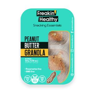 Freakin Healthy Almond Nut Butter & Granola Crackers Dispenser 60g