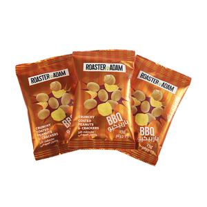 Roaster Adams Salted Peanut & Crackers 12x13g