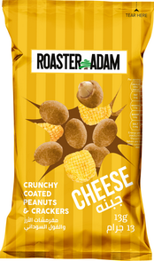 Roaster Adams Crunchy Coated Peanut & Crackers Pizza 24x25g