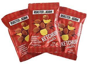 Roaster Adams Salted Peanut & Crackers 24x25g