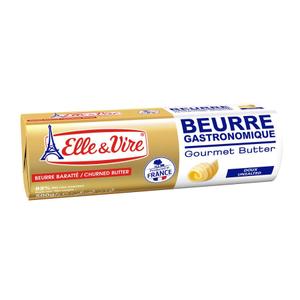 Elle & Vire Unsalted Butter Roll 500g