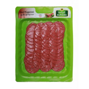 Almasa Skinpack Beef Pepperoni 200g