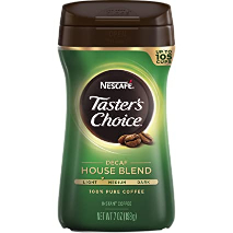 Nescafe Decaf House Blend Coffee 7oz