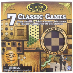 Canadian Games Classic Board Games 1pc