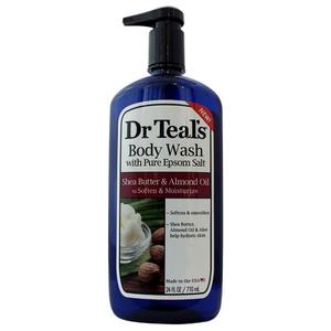 Dr Teal's Bodywash Shea Butter & Almond 710ml