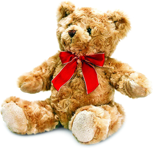 Keel Traditional Bear With Ribbon 20cm 1pc