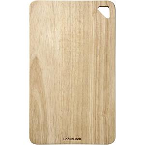 Lock & Lock Rubber Wood Cutting Board Ping Pong 1pc