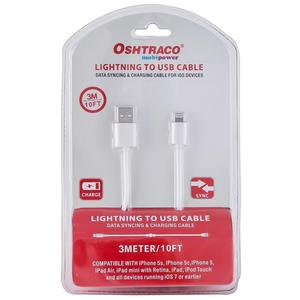 Oshtraco Iphone 5 Data + Charging Wire 3m 1pc
