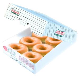 Krispy Kreme Original Glazed 1pack
