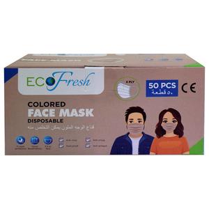 Eco Fresh Face Mask Beige Color 50pcs