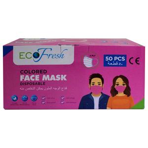 Eco Fresh Face Mask Pink Color 50pcs